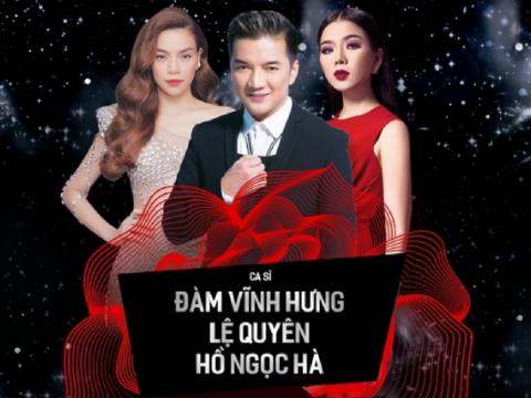Bán vé Liveshow Đàm Vĩnh Hưng, Lệ Quyên, Hồ Ngọc Hà 19,20/10/2017