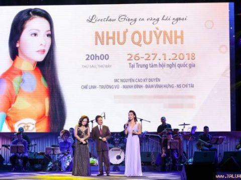Bán vé Liveshow Như Quỳnh 26-27/01/2018
