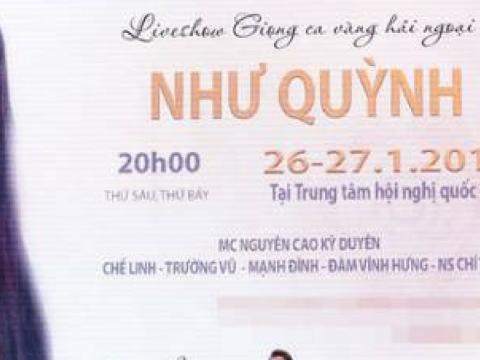 MC Nguyễn Cao Kỳ Duyên tiết lộ Như Quỳnh sắp làm liveshow tại Hà Nội