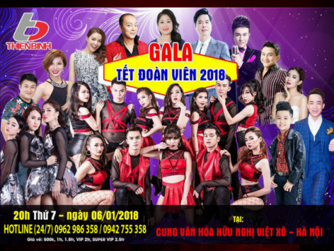 Bán vé Gala Tết Đoàn Viên 2018