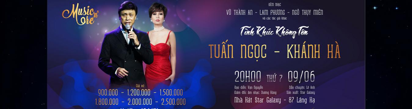 Liveshow Tuấn Ngọc Khánh Hà