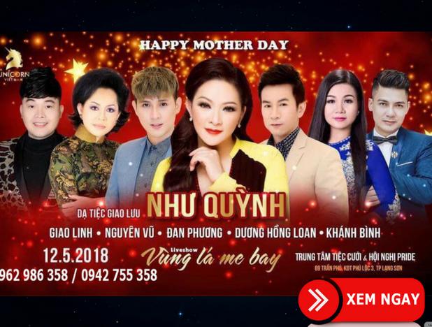 Bán véLiveshow Như Quỳnh – tại TP Lạng Sơn