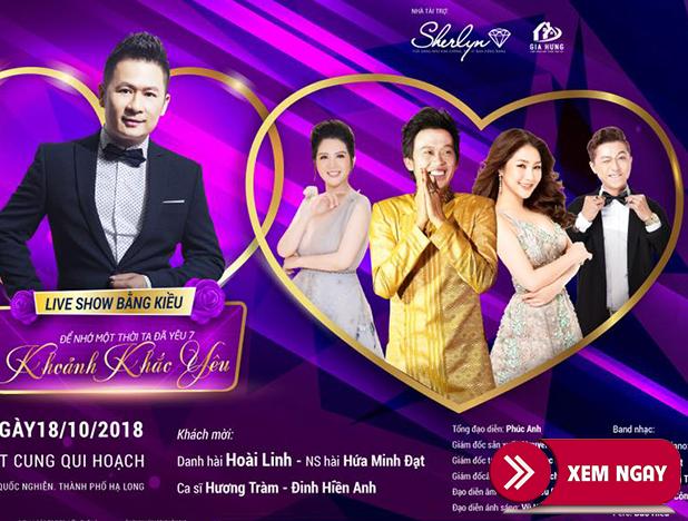 Bán vé Liveshow Đêm Nhạc Bằng Kiều – tỉnh Quảng Ninh