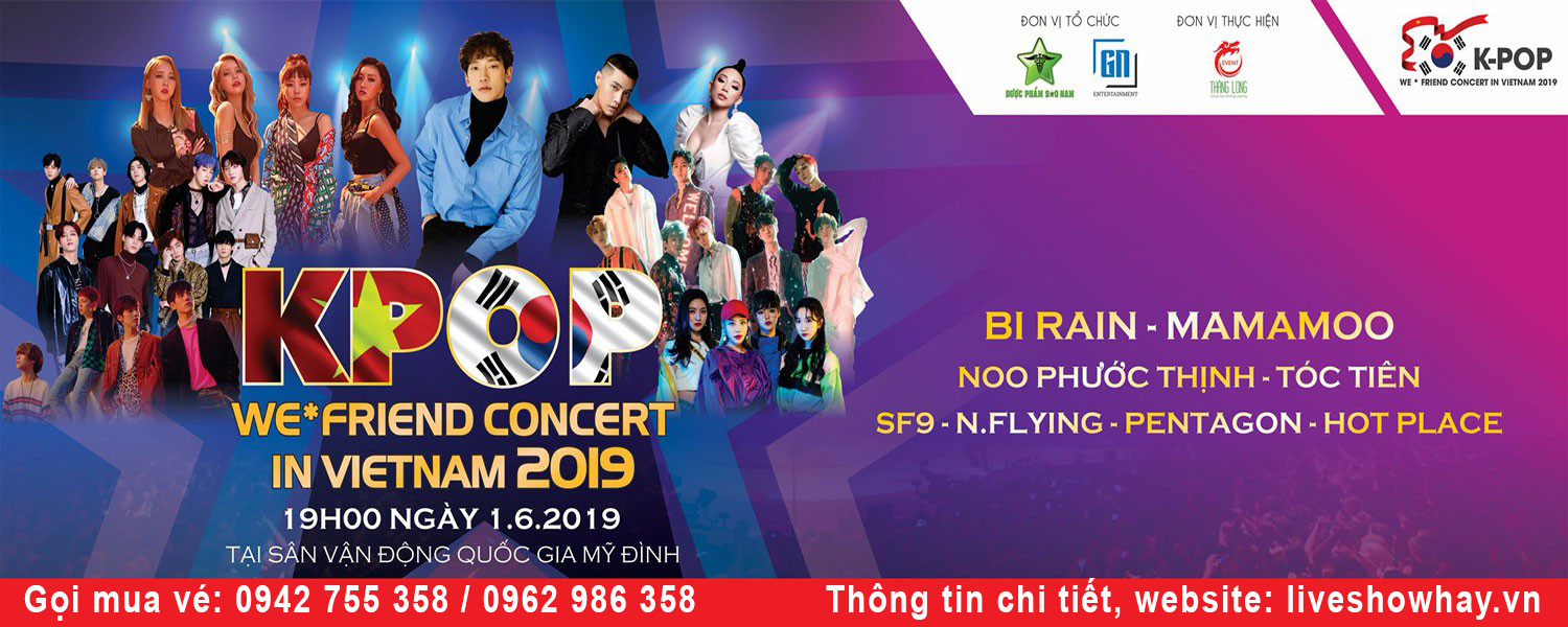 K-POP We*Friend Concert In Vietnam
