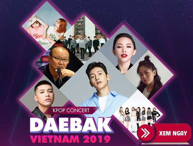Bán vé Đêm Nhạc Kpop Concert – Daebak Vietnam 2019