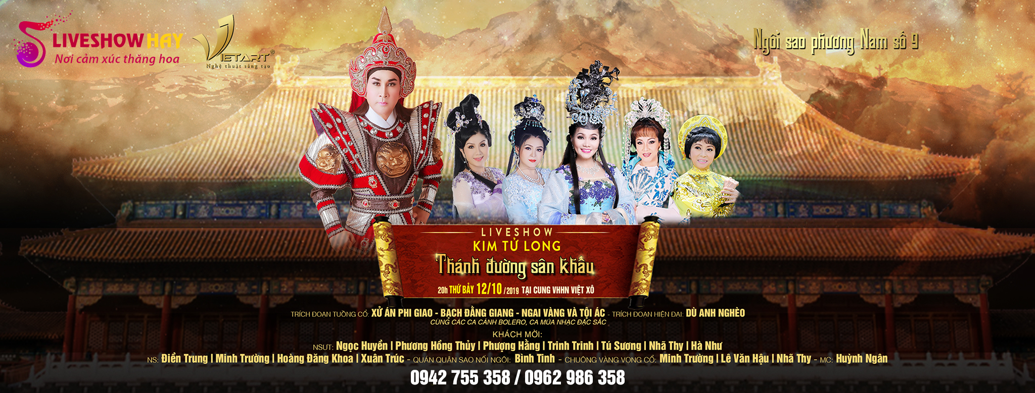 Liveshow Kim Tử Long – Thánh Đường Sân Khấu<p><span><span>