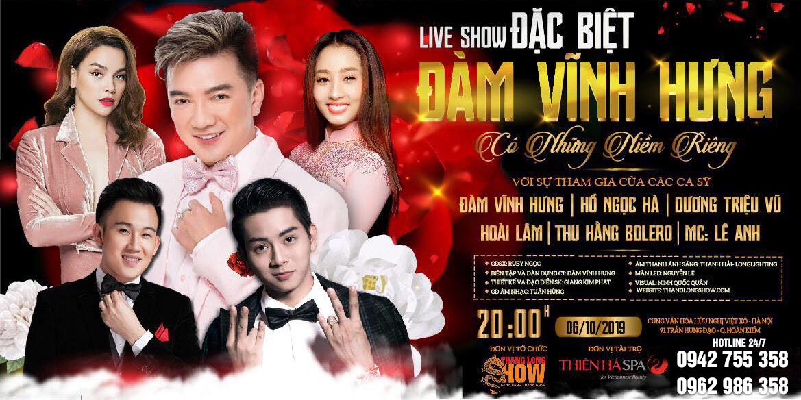 Liveshow Đàm Vĩnh Hưng<p><strong>