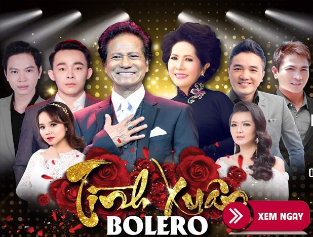 Bán Vé Liveshow Đêm Nhạc Tình Xuân Bolero- 28/12/2019